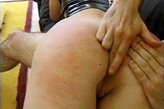 Submissive Olga Spanked And Fucked