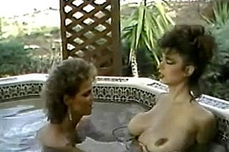 Erica Boyer & Christy Canyon in the Sexy Tub