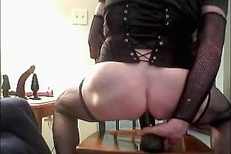 Sissy whore gets a well deserved fucking   deepthroating