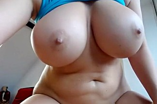 Big Tits Cam Girl Riding Big Dildo