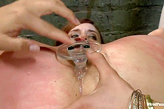 18 Year Old Iona has her First Experience with a Girl on Camera with Two Doms