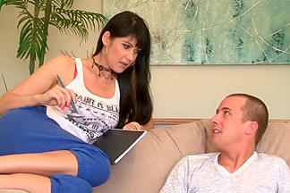 Best pornstars Eva Karera and Liv Aguilera in fabulous big dick, hd xxx movie