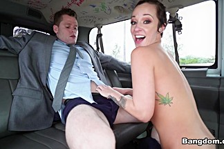 Jada Stevens in Jada Stevens Returns to the Bus  - BangBus