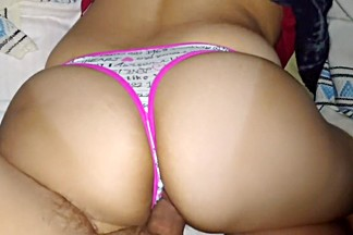 UNIVERSITY THONG!! BIG ASS!!