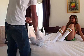 French-filipina michelle maylene fucked hard in bed