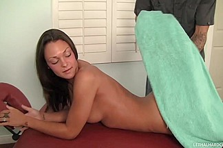 Pervy Masseuse Seduces Client Into Full Blown Sex
