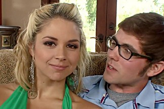 Crazy pornstar Sarah Vandella in best deep throat, hd xxx scene