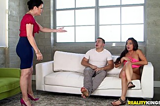 Shane Blair & Natalie Lovenz & Peter Green in Tight Little Slit - MomsBangTeens