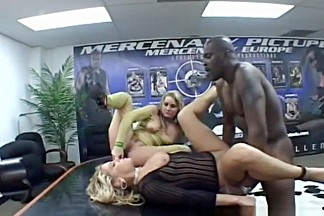 Exotic pornstar in horny straight adult scene