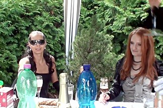 Best pornstars Ferrara Gomez, Jenna Lovely and Leony Dark in fabulous hd, outdoor porn video