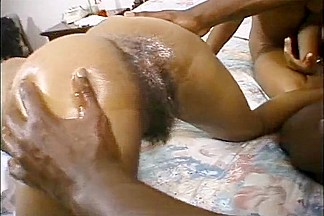 Ebony college girl struggling with bbc
