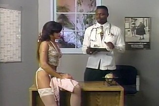 Pussy and Anal Exam By Black Doctor