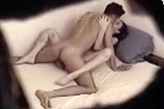 Bad voyeur bf tapes himself having sex with his wild gf