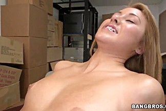 Blonde latina Marina Angel gets nailed hard
