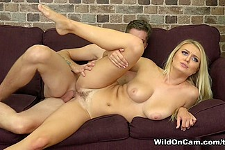 Dylan Snow & Natalia Starr in Natalia Bringing The Heat - WildOnCam