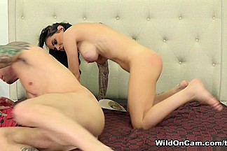 Barry Scott & Brandy Aniston in Ready For Every Inch - WildOnCam
