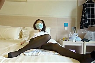 Chinese GF in pantyhose