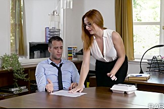 Eva Berger in Naked Lunch - OfficeObsession