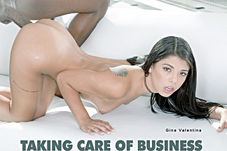 Gina Valentina in Taking Care Of Business - BlackIsBetter