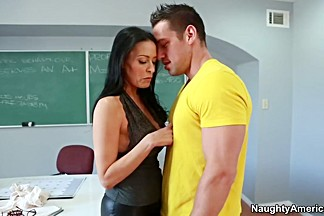 Vanilla DeVille & Johnny Castle in My First Sex Teacher