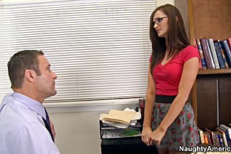 Lily Carter & Jack Lawrence in Naughty Book Worms