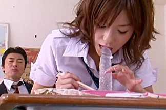 Horny Japanese whore Kaho Kasumi in Hottest Girlfriend, Rimming JAV clip
