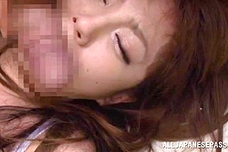 Sexy teacher Tsubasa Amami enjoys gentle pussy licking