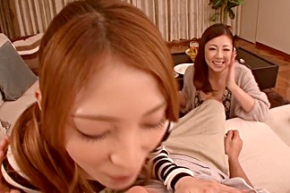 Fabulous Japanese models Kokomi Sakura, Minori Hatsune in Hottest JAV censored POV, Hairy video