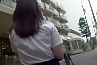 Fabulous Japanese chick An Shinohara in Hottest College/Gakuseifuku, Blowjob/Fera JAV video