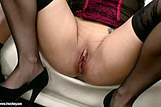 Brunette Madlin needs two experienced dicks to demonstrate her full potential