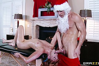 Dirty Masseur: Shiatsu Santa