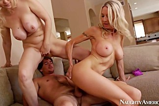 Emma Starr & Julia Ann & Tyler Nixon in Seduced by a Cougar