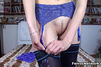 LacyNylons Video: Emmanuel