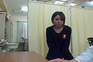 Cute Asian bimbo gets a detailed and pretty hot medical exam