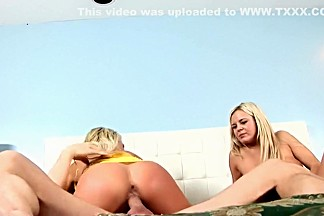 Crazy pornstars Brooke Belle and Bree Olson in horny cumshots, facial xxx scene