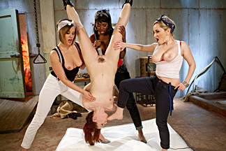 Amazing fetish sex scene with crazy pornstars Aiden Starr, AnnaBelle Lee and Nyomi Banxxx from Whippedass