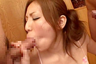 Yuna Shiina in Lustful Housewifes Sexual Urge 10 part 4