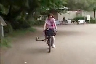 Japanese girl bicycle