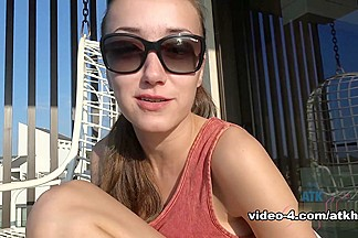 Victoria Rae Black in Virtual Date Movie - AtkHairy