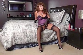 Sexy Slip & Stockings