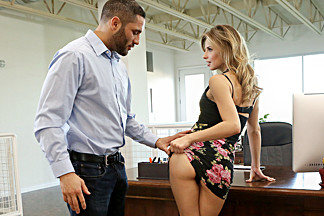 Jillian Janson in Office Rumors - NubileFilms