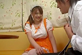 Crazy Japanese chick Rio Hamasaki in Amazing Stockings/Pansuto JAV scene