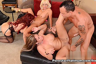 Tara Holiday, Sexy Vanessa, Eva Notty Foursome