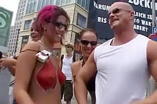Loveparade and Sex in Berlin 2006 part 1