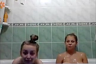 Kinky College Coeds Take A Bath