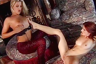 Best pornstars Briana Banks and Lita Chase in crazy blonde, cunnilingus porn video