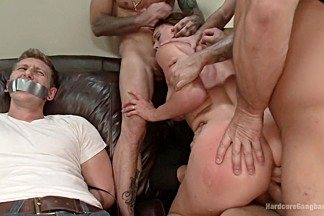 A Woman Scorned- Krissy's Fantasy Gang Bang Revenge!!