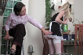 LickNylons Clip: Mima and Paulina A