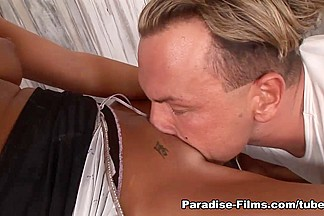 Black Angelika in Taking Every Drop - Paradise-Films