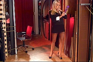 Dannii Harwood - Magic Wand and High-Heels